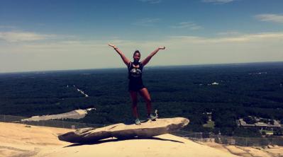 Top of Stone Mountain